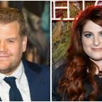 Redditch Advertiser: James Corden joins Meghan Trainor on stage for a duet in LA