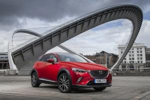 CX-3 IS STYLISH AND FUN TO DRIVE