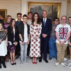 Redditch Advertiser: William and Kate hail teenage award winners as 'shining lights'