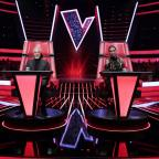 Redditch Advertiser: First look: Sir Tom slides back into the red chair as judges line up for The Voice UK