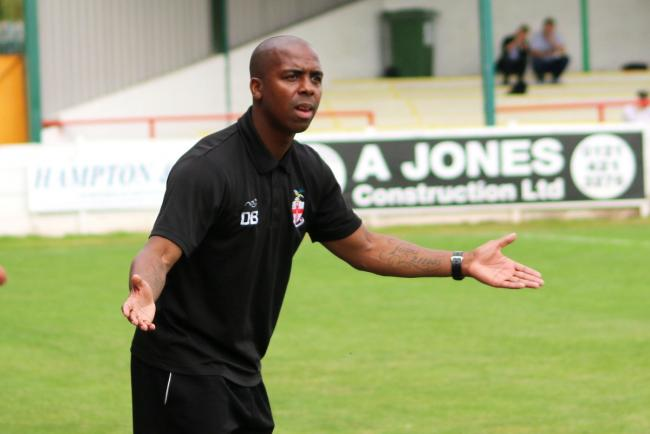 Redditch United dealt injury blow as striker Vinny Mukendi is ruled out for the season