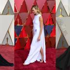 Redditch Advertiser: Kirsten, Karlie and Taraji in capes, gowns and glitter on the Oscars red carpet