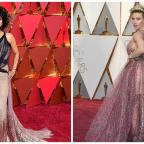 Redditch Advertiser: Scarlett Johansson and Halle Berry both had major hair moments on the Oscars red carpet