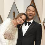 Redditch Advertiser: John Legend and Chrissy Teigen were 'couple goals' on the Oscars red carpet