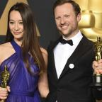 Redditch Advertiser: White Helmets producer describes only British Oscar win as 'bitter-sweet'