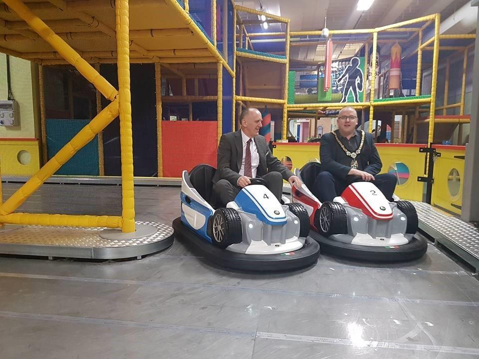 Family entertainment centre 360 Play opens its doors in Redditch's  Kingfisher Shopping Centre