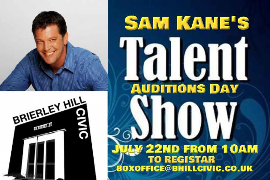 Sam kane The Big Talent Searc 2017 Auditions Day