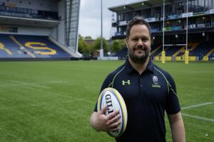 Omar Mouneimne is Worcester Warriors' new defence and kicking strategy coach