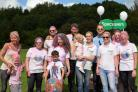 The team from Redditch Specsavers at last year's event.