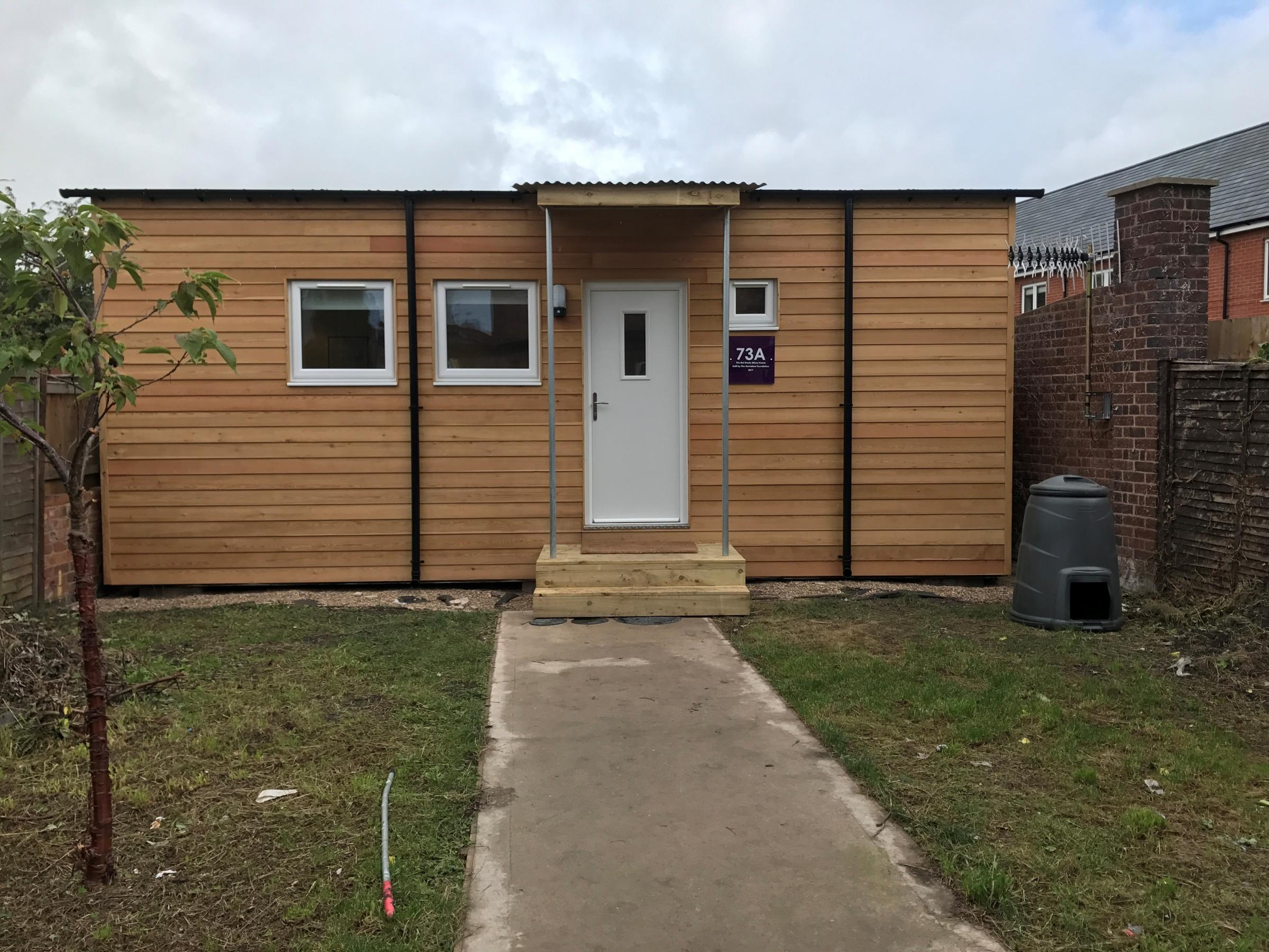 Innovative Micro-Home For The Homeless Launched By Redditch