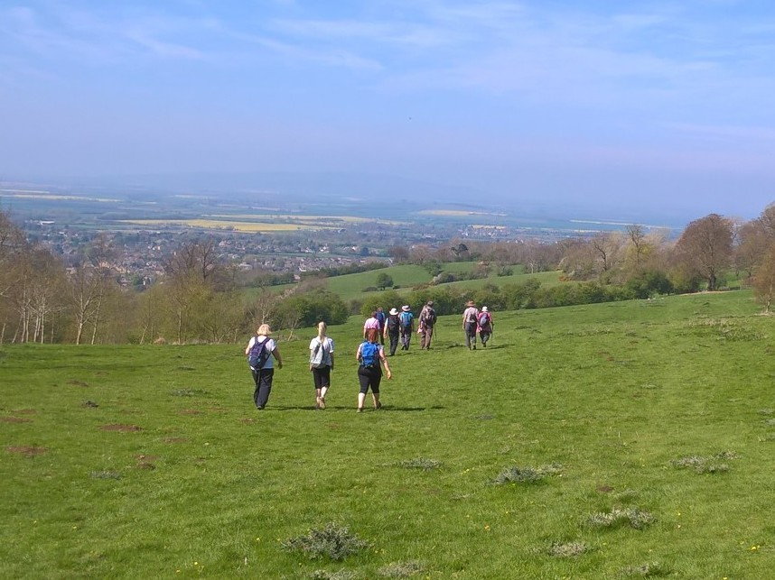 Peopleton morning walk with Evesham Ramblers