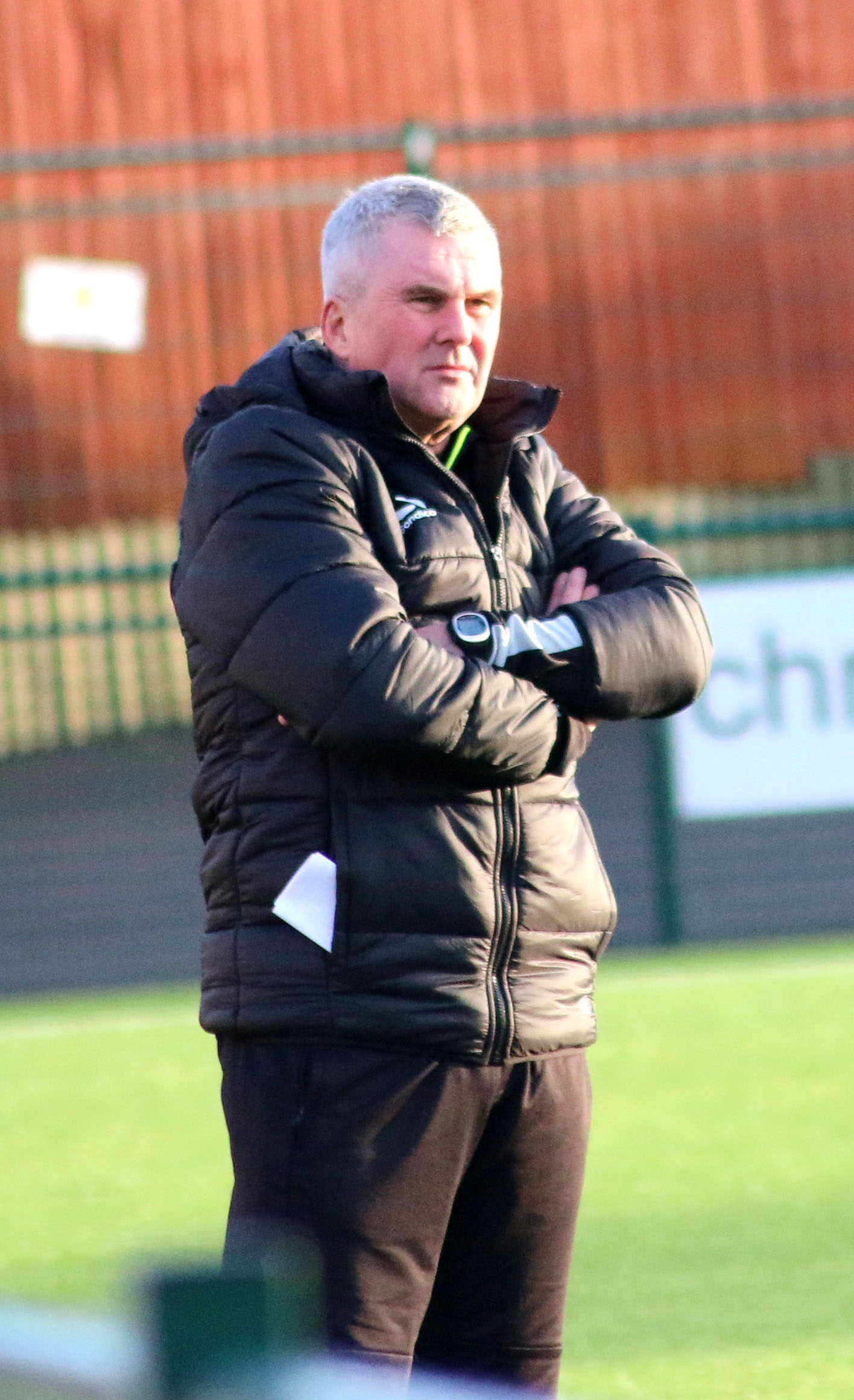 Redditch Untied boss Tim Harris has called for greater character from his players.