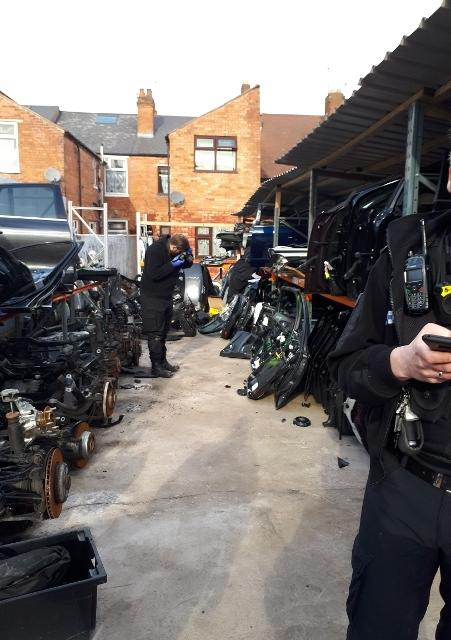 Redditch Police Bust High Value Performance Chop Shop In
