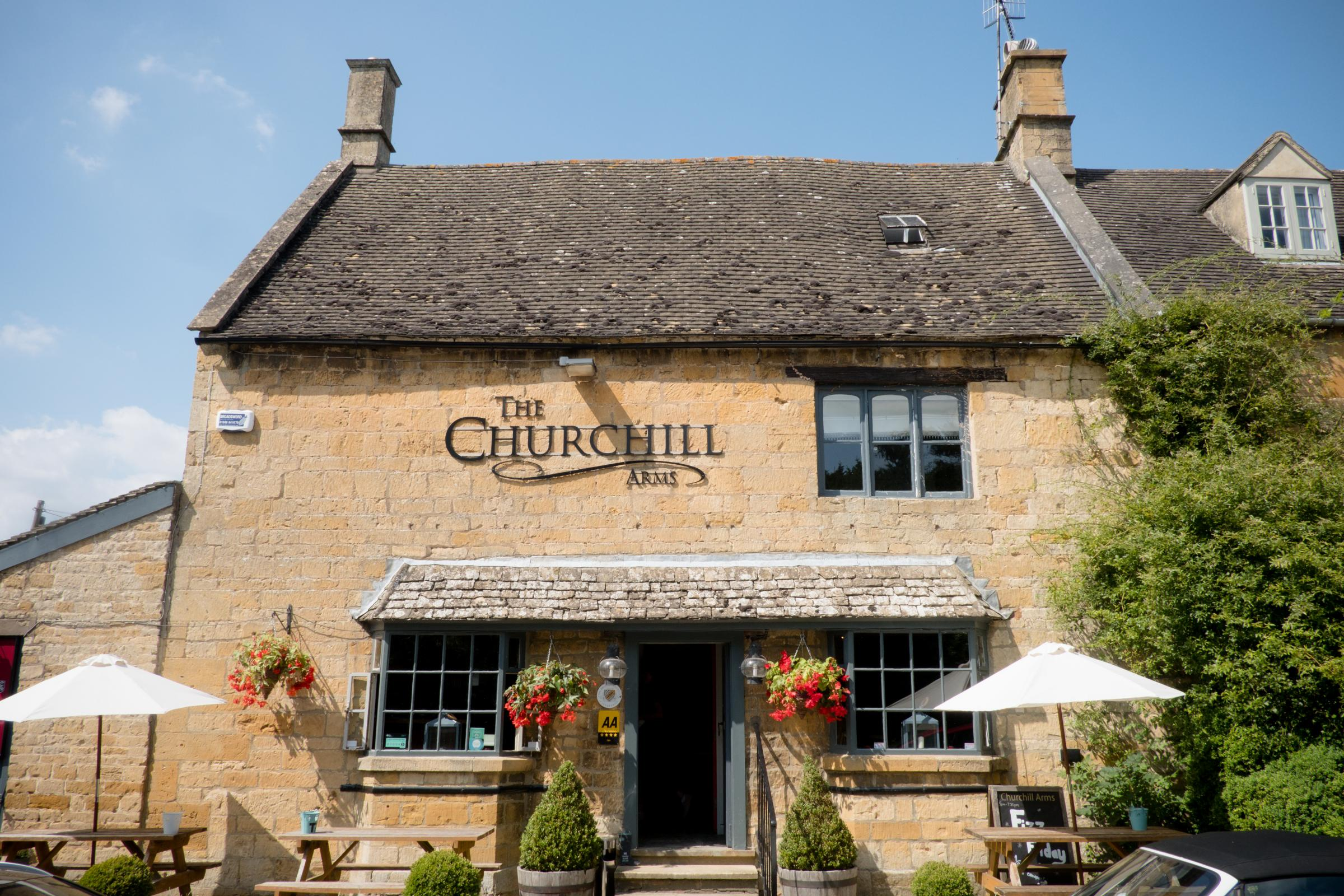 The Churchill Arms, Paxford, Chipping Campden. Picture: Charlie Flounders Photography