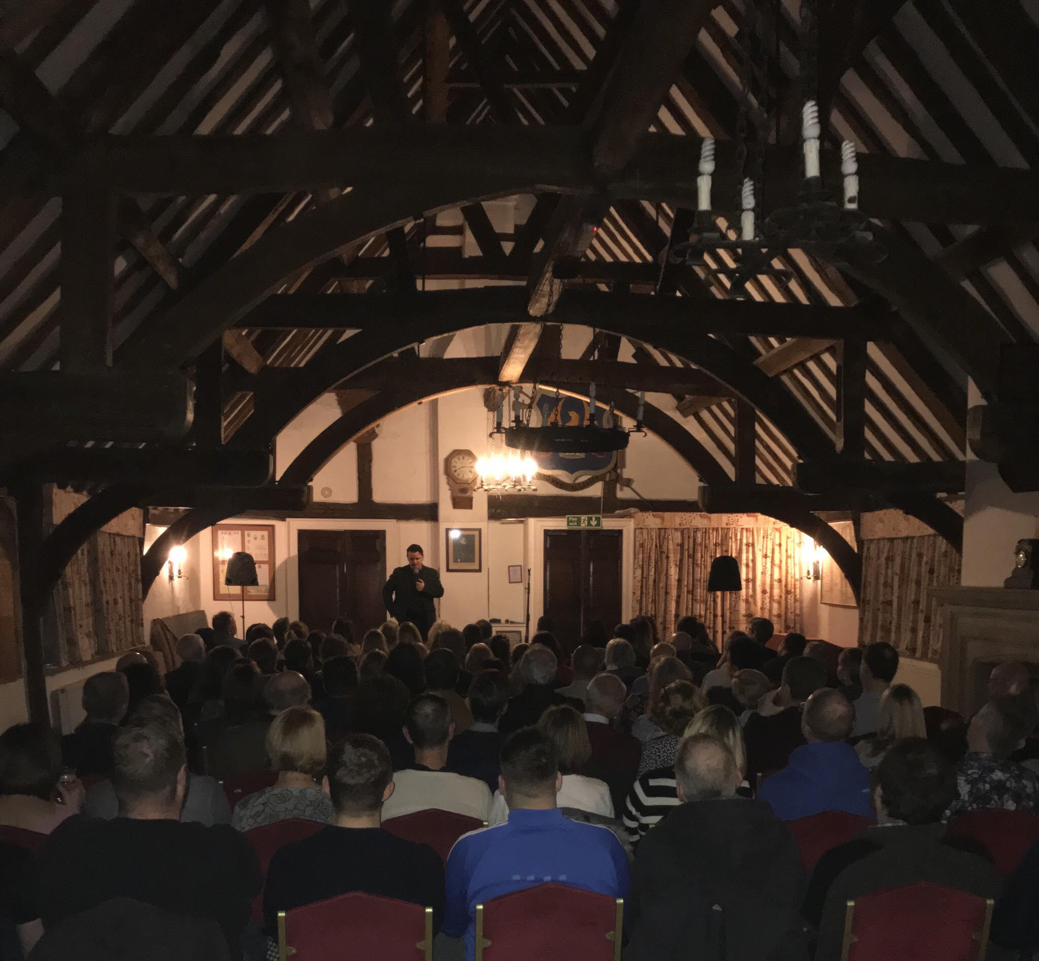 The first Alcester Comedy Night