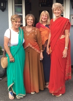 Residents brought a touch of Bollywood to Astwood Bank