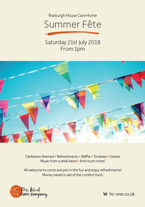 Roxburgh House Summer Fete