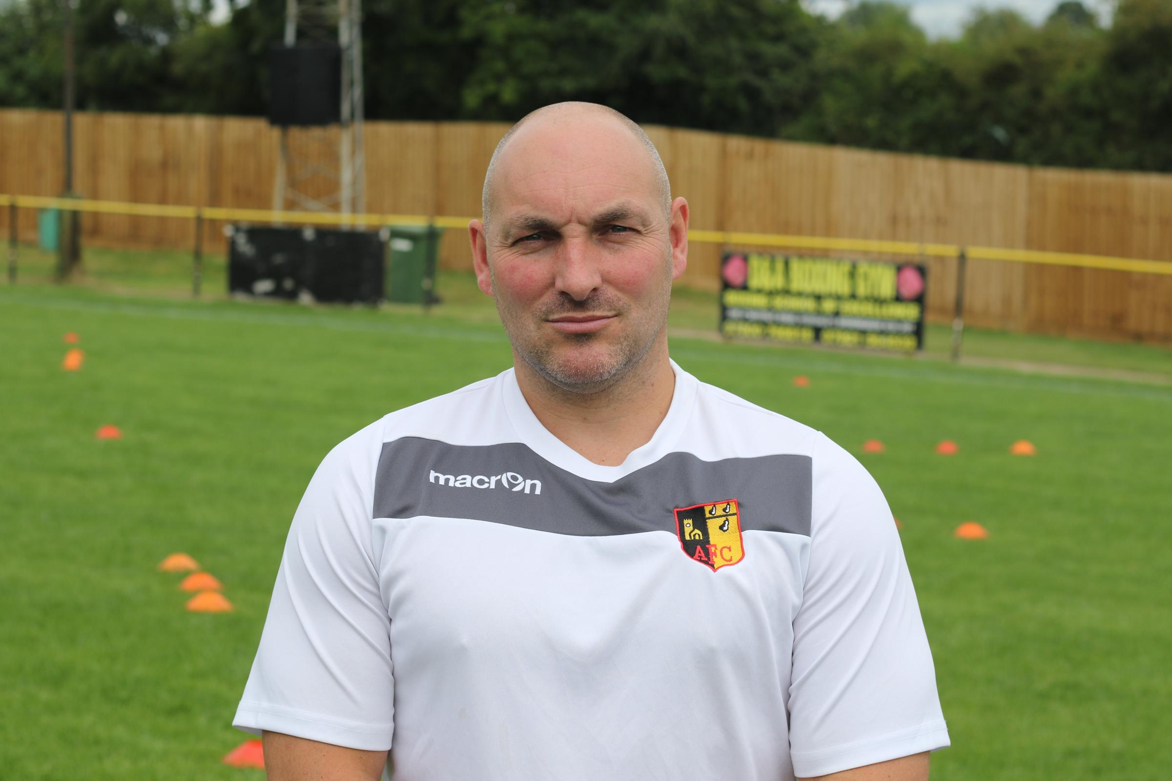 Alvechurch boss Ian Long. UGC pic