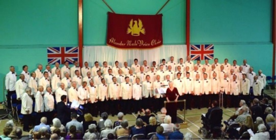 The Alcester Male Voice Choir will be holding a special service of thanksgiving