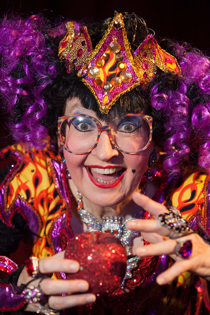 CRAZY FOR YOU: The irrepressible Su Pollard is starring in Malvern's panto.