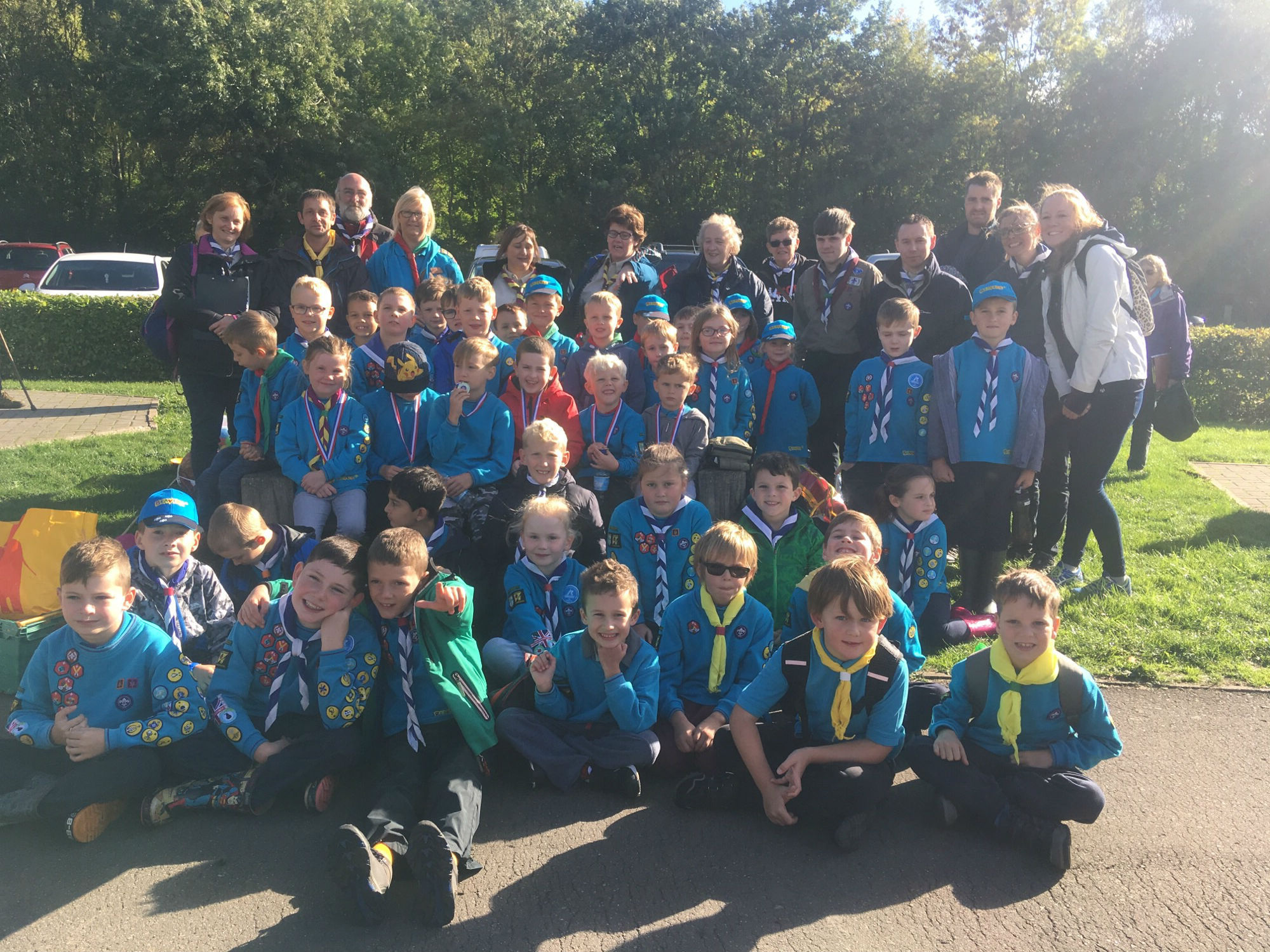 Fun in the sun: Beaver Scouts from across Redditch