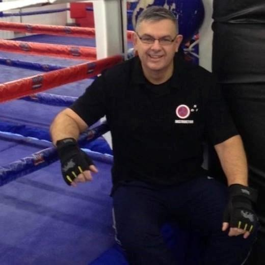 Pete Martin from The Redditch Selfdefence Association