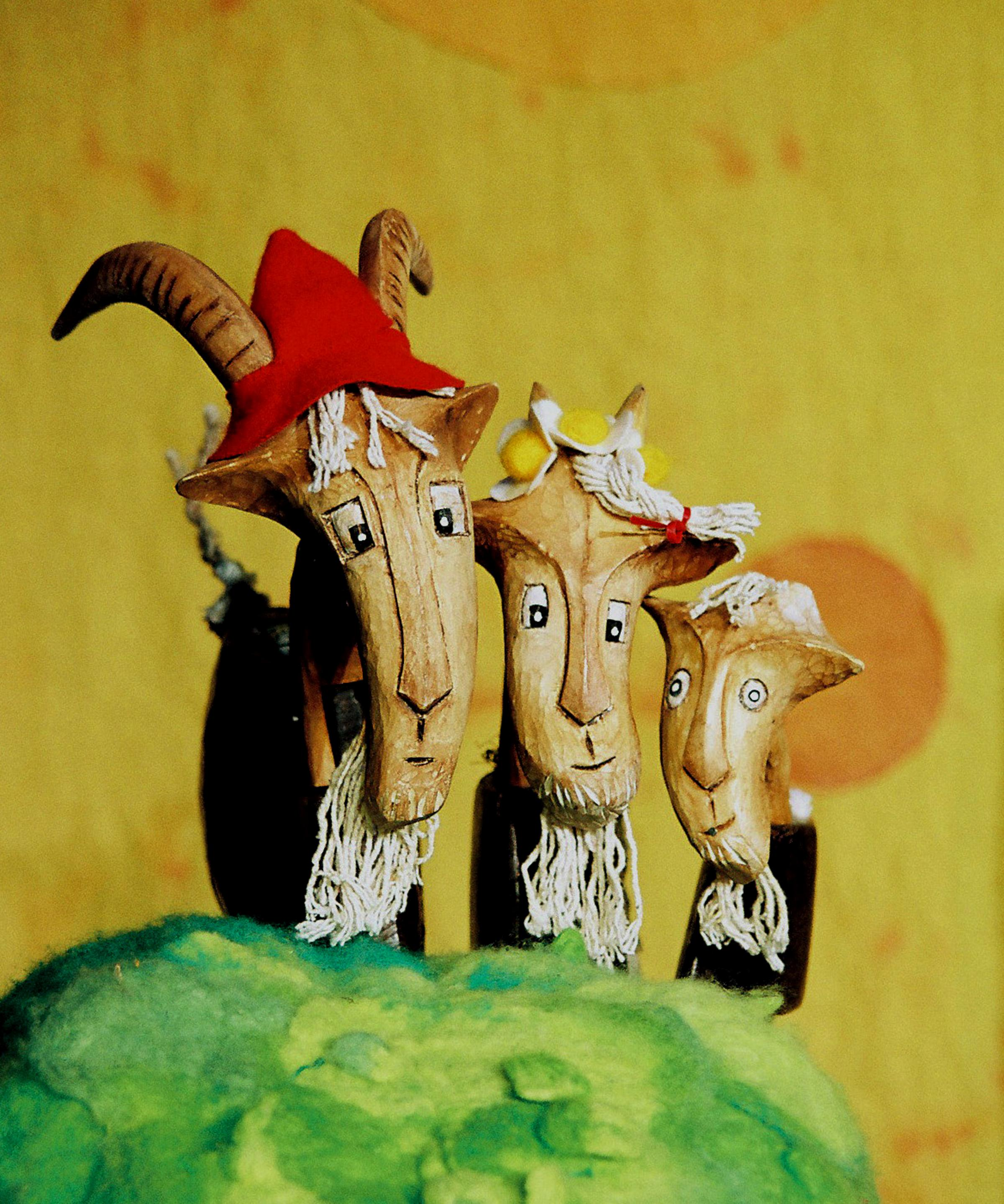 Garlic Theatre presents The Three Billy Goats Gruff