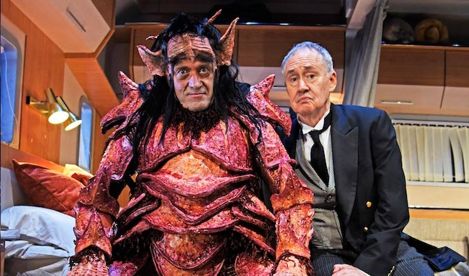 TRAILER BOYS: Ade Edmondson and Nigel Planer in a scene from Vulcan 7.