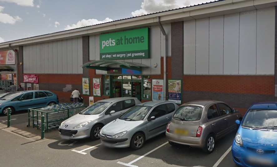 Pets at Home in Redditch. Photo: Google