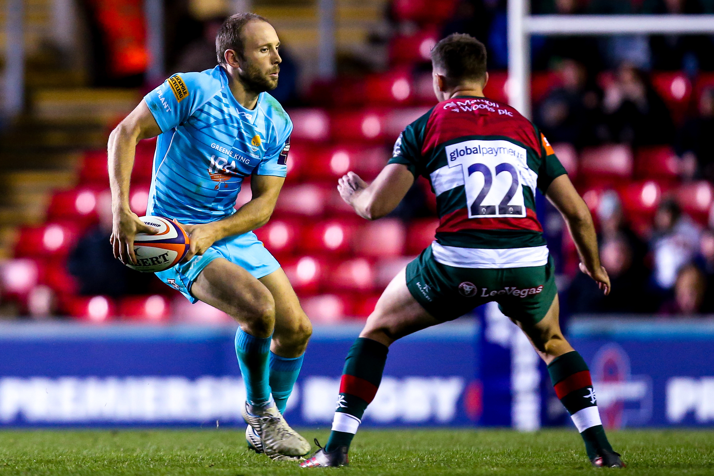 Chris Pennell said Warriors played more heads-up rugby at Saracens. Picture: ROBBIE STEPHENSON/JMP