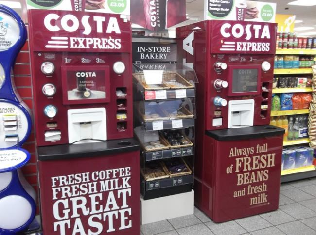 Costa machines are giving away free coffee on Tuesday (and there's no catch)