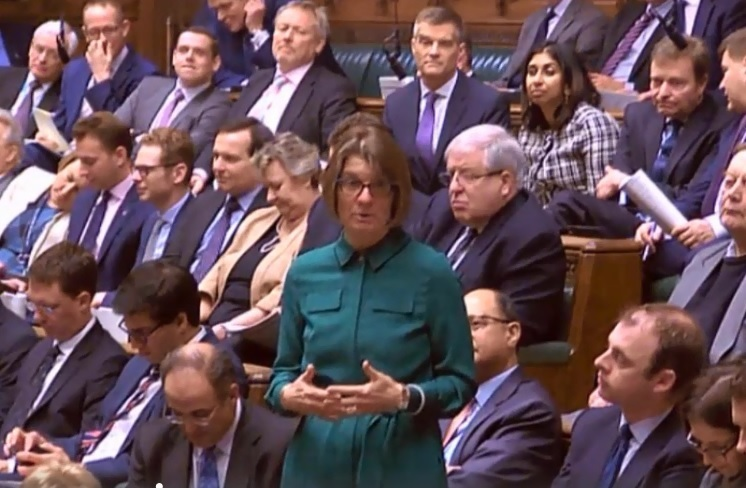 Rachel Maclean, MP for Redditch, in the Commons