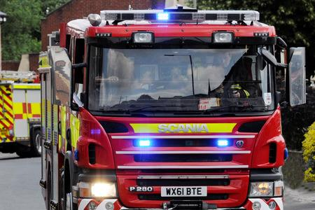 Fire crews were called to the Ledbury flat