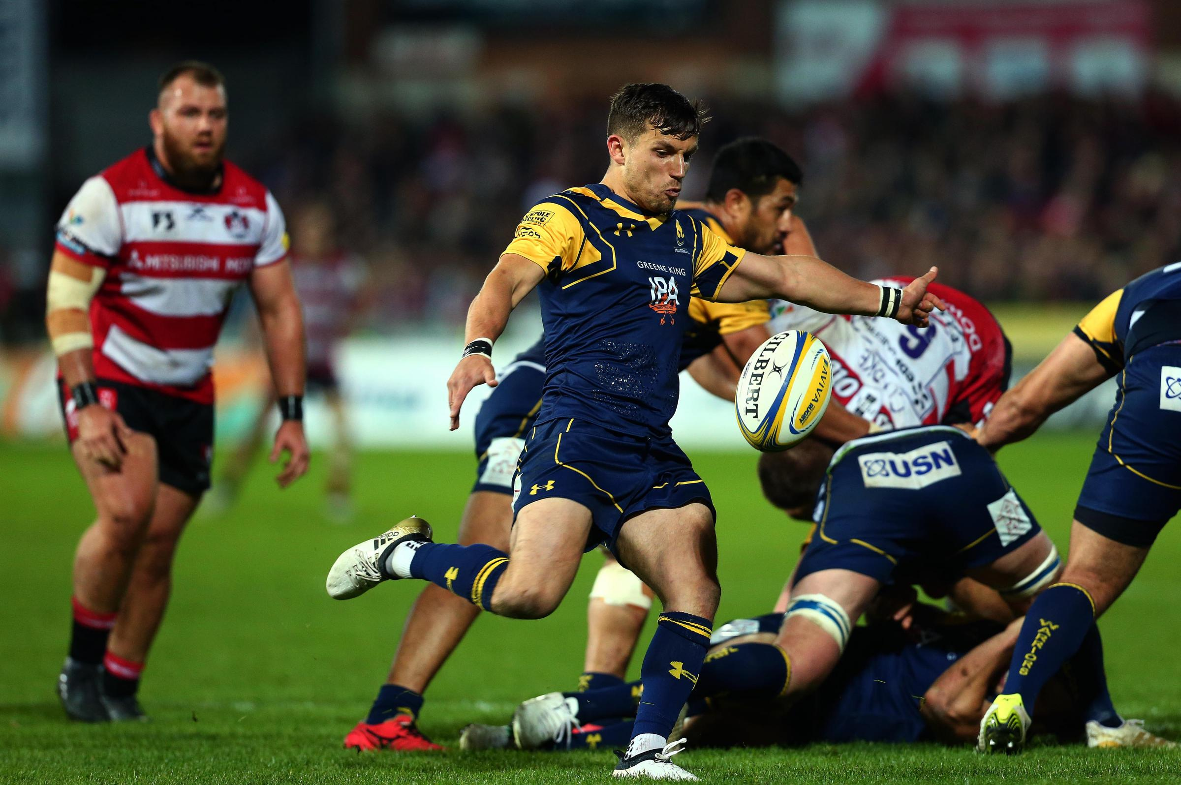 Jono Kitto in action for Worcester Warriors last season. Picture: Robbie Stephenson/JMP