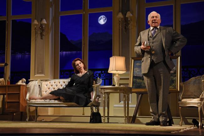 DOUBLE DELIGHT: Jane Asher and Simon Callow will be on stage at Malvern this week.