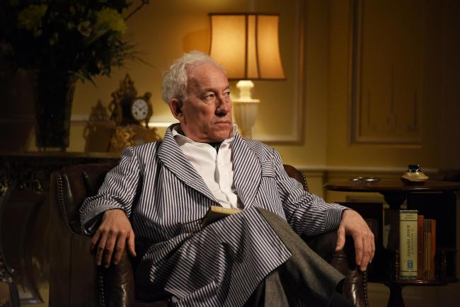 Simon Callow, who is currently appearing in A Song at Twilight at Malvern's Festival Theatre.