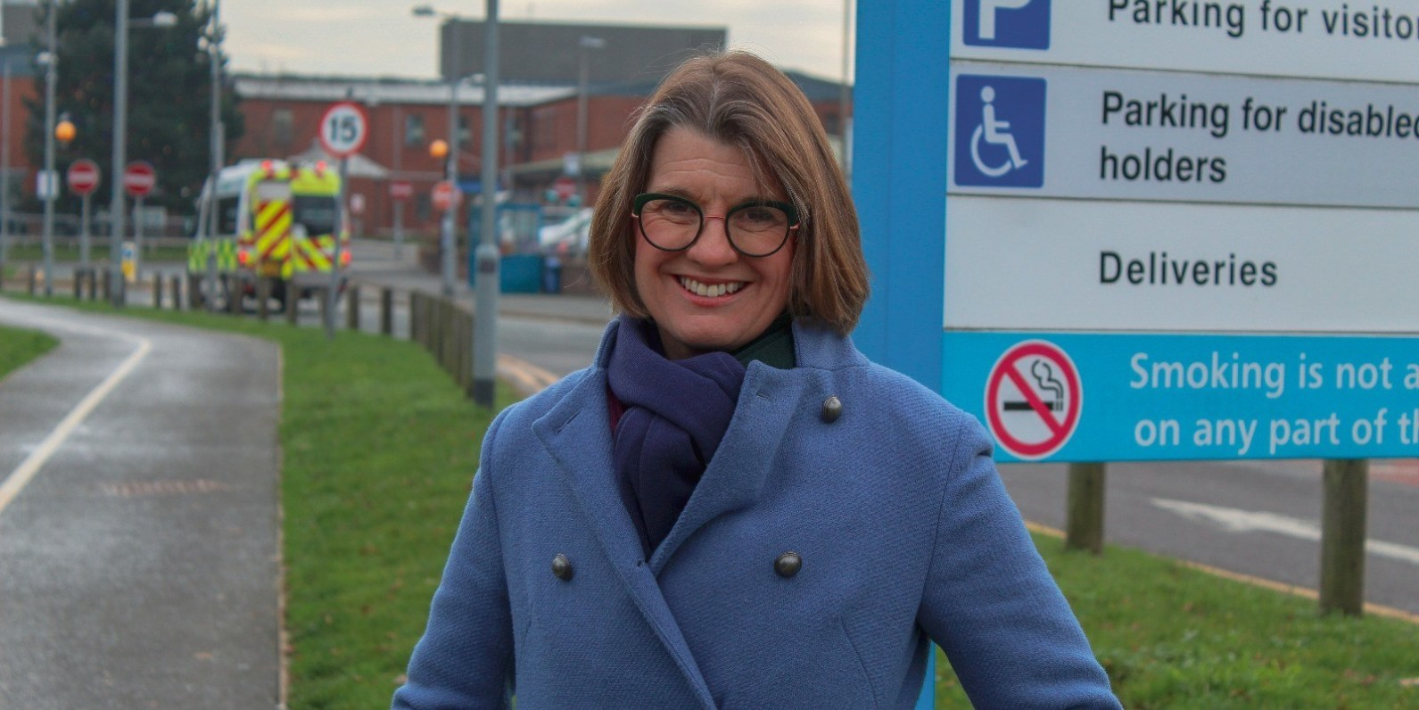 Redditch MP Rachel Maclean