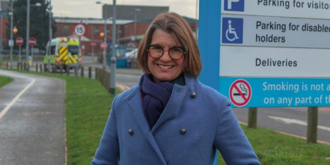 Redditch MP Rachel Maclean has welcomed even more hospital funding