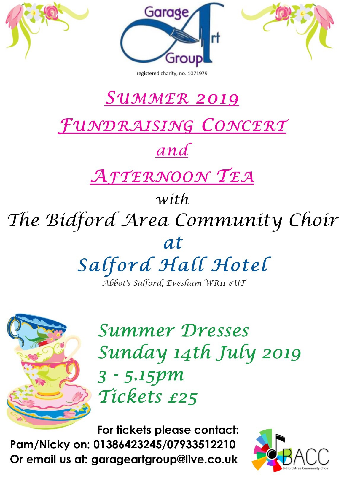 Afternoon Tea and Music Fundraising Event