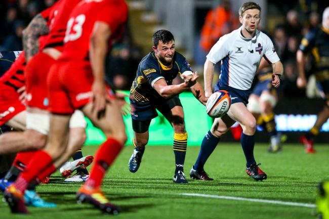 Worcester Warriors' Jonny Arr admits he may consider a move abroad to prolong his playing career. Picture: ROGAN THOMSON/JMP
