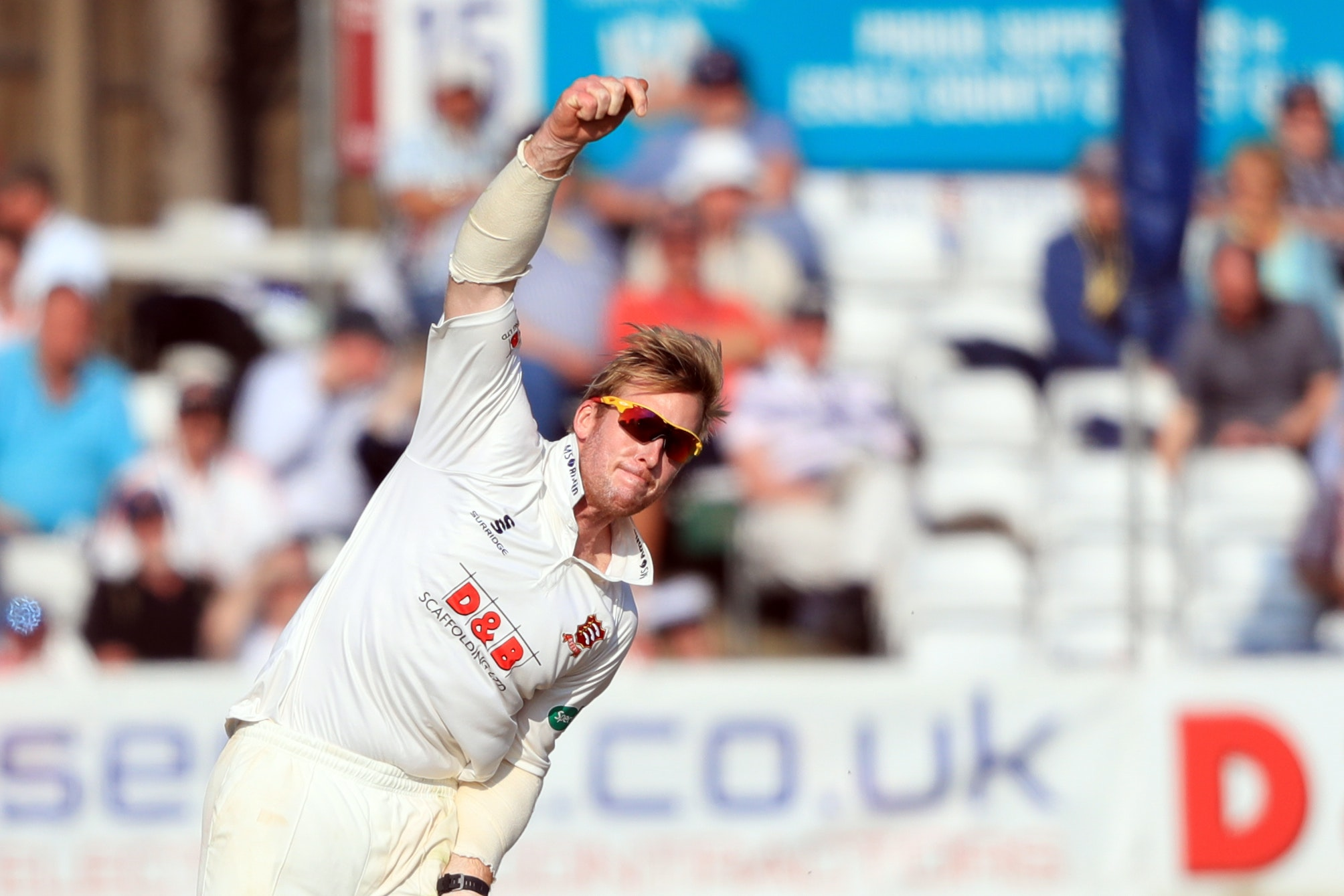 Simon Harmer propelled Essex to victory inside three days