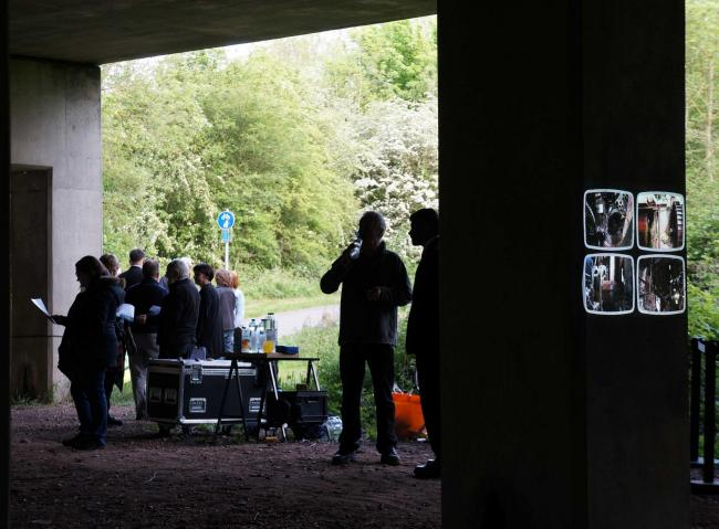 Arrow Valley Country Park became a dynamic mechanical space with a VIP launch event for an exciting project.