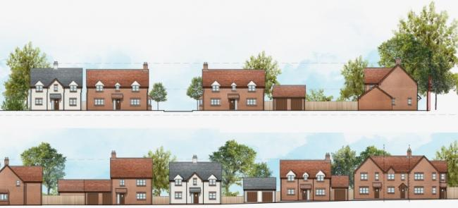 HOMES: A plan to build 40 homes off Droitwich Road in Fernhill Heath has moved a step closer.