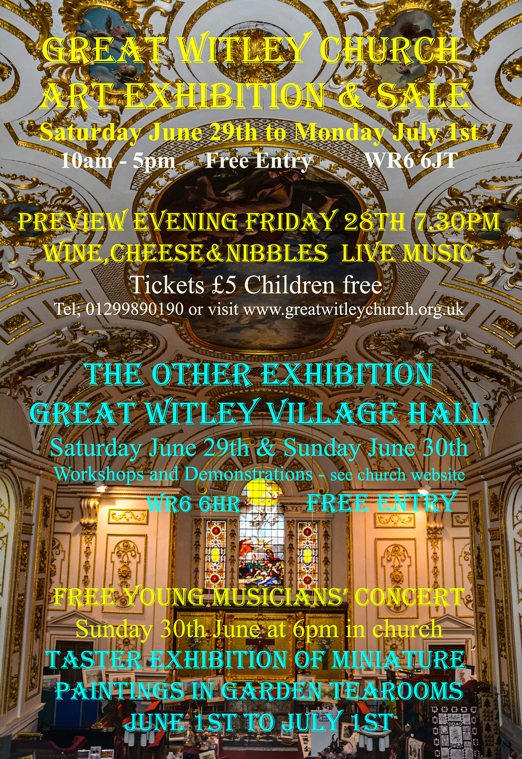 9th Great Witley Church Art Exhibition