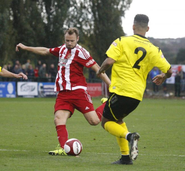 Leon Broadhurst in action for Stourbridge. Picture: Andrew Roper
